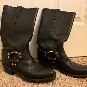 Frye Womens Harness Boots Size 8